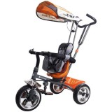Tricicleta cu copertina Sun Baby Super Trike orange