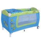 Patut Bertoni - Lorelli Danny blue & green car cu 2 nivele