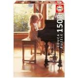 Puzzle Educa Micutele Pianiste 1500 piese