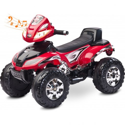 ATV Toyz Quad Cuatro 6V red