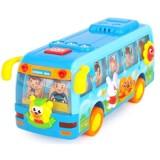 Autobuz dansator Hola Toys cu lumini si sunete