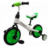 Bicicleta cu roti ajutatoare R-Sport P1 verde
