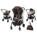 Carucior Bebe Confort Trio Loola Excel earth brown