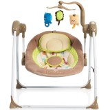 Leagan si balansoar electric Moni Baby Swing+ cappucino