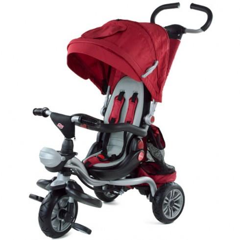 Tricicleta cu copertina MyKids GoRide red