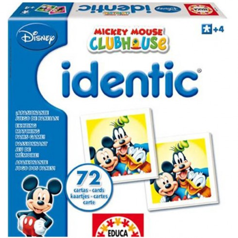 Joc Educa Identic Mickey Mouse