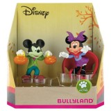 Set 2 figurine Bullyland Minnie si Mickey Halloween
