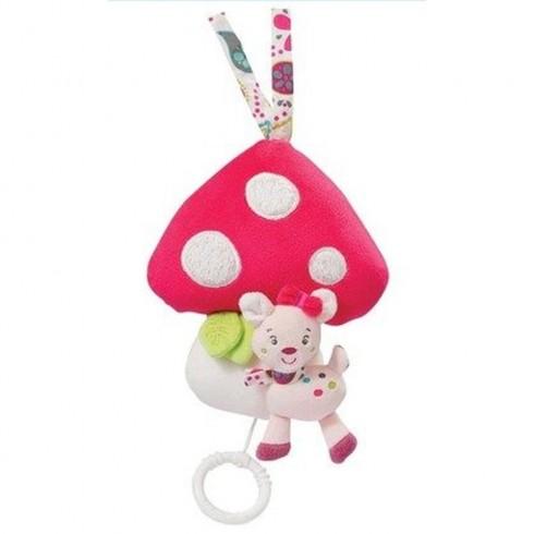 Jucarie muzicala Brevi Soft Toys 076073 Ciuperca