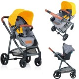Carucior Kiddo Jazz 2 in 1 lemon
