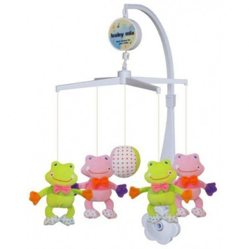 Carusel muzical Baby Mix Frogs