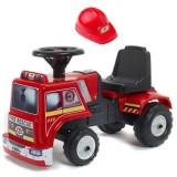 Masinuta Falk Baby Fire Rescue cu casca de protectie