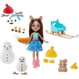 Set Enchantimals by Mattel papusa Sharlotte Squirrel, figurina Peanut si accesorii {WWWWWproduct_manufacturerWWWWW}ZZZZZ]