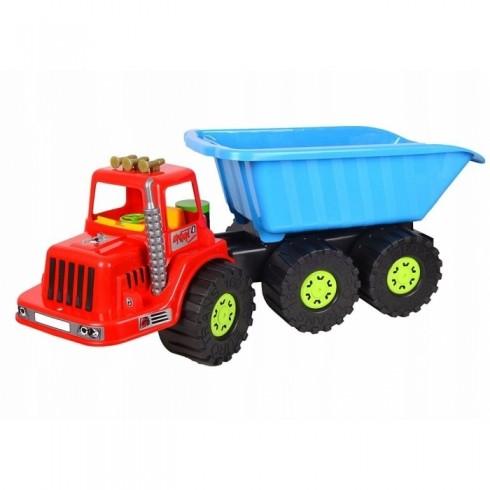 Camion pentru copii Marmat XXL cabina rosie