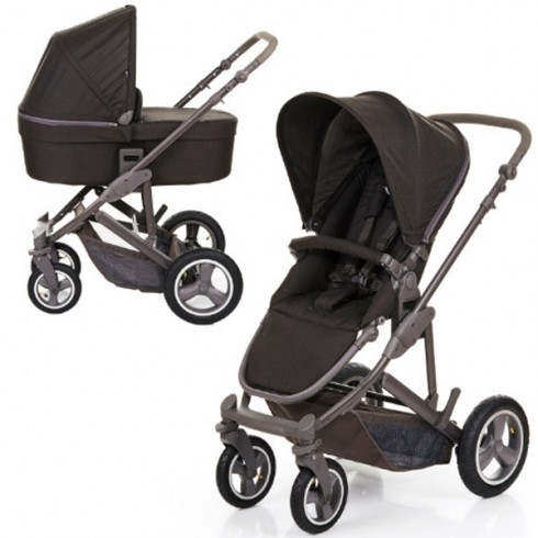 Carucior Circle ABC Design Catania 4 Air 2 in 1 woven black