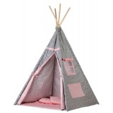 Cort de indieni Ecotoys TIPI-05 Triangular Craze