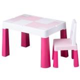 Set masuta cu scaun Tega Lego Multifun roz