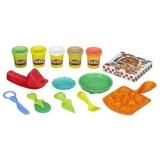 Set plastilina Hasbro Play-Doh Petrecerea cu Pizza