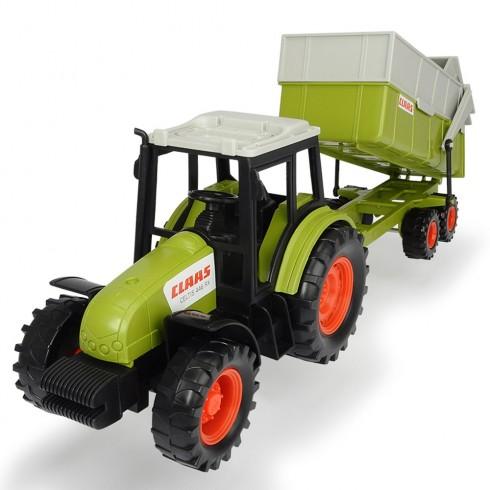Tractor Dickie Toys Class Celtis 446 RX cu remorca {WWWWWproduct_manufacturerWWWWW}ZZZZZ]