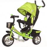 Tricicleta cu copertina Skutt Agilis green