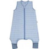 Sac de dormit Slumbersac Blue Stripes 12-18 luni 1.0 Tog