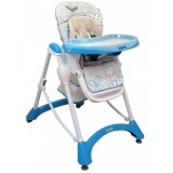 Scaun de masa Baby Mix Hungry Cats blue