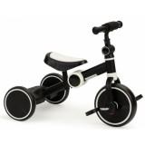 Tricicleta cu pedale Ecotoys YM-BB-1 2 in 1 Negru