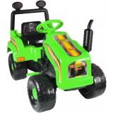 Tractor Super Plastic Toys Mega Farm green