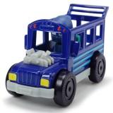 Masina Dickie Toys Eroi in Pijamale Night Ninja Bus cu figurina