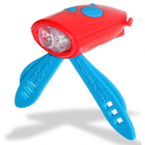 Claxon Mini Hornit cu lumina rosu albastru