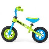 Bicicleta fara pedale Milly Mally Dragon Air green