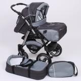 Carucior Baby Merc Junior Plus 2 in 1 Graphite grey