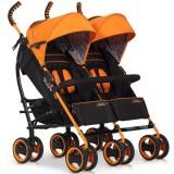 Carucior Easy Go Duo Comfort electric orange