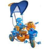 Tricicleta cu copertina Arti Tigru 2880 albastru