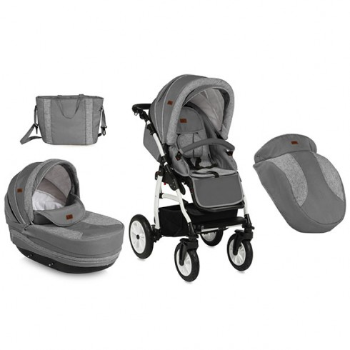 Carucior Bertoni - Lorelli Kara Air 2 in 1 grey