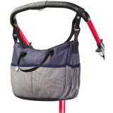 Geanta Caretero Deluxe navy grey