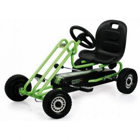Go Kart Hauck Lightning Race Green