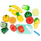 Set de legume si fructe Ecotoys