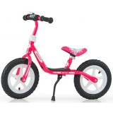Bicicleta fara pedale Milly Mally Dusty pink