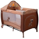Patut pliabil Coto Baby Samba Lux brown