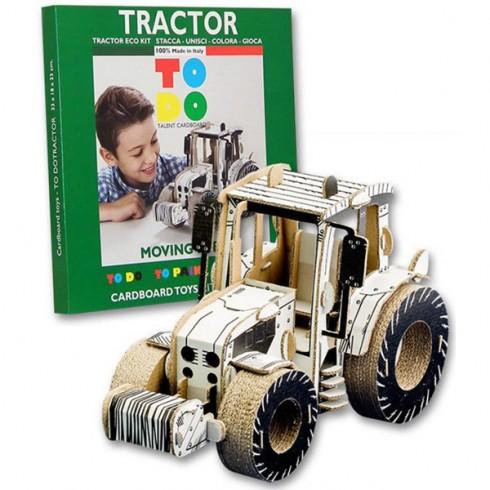 Joc creativ Todo 3D Tractor