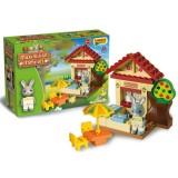 Jucarie de construit Unico Maximilian Families Rabbit 33 piese