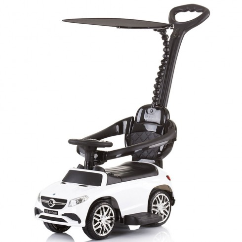 Masinuta de impins Chipolino Mercedes AMG GLE 63 Coupe white cu maner si copertina {WWWWWproduct_manufacturerWWWWW}ZZZZZ]
