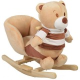Scaunel balansoar Moni Bear Khaki WJ-635