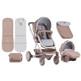 Carucior Lorelli S-500 2 in 1 beige Indian Bear