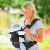Marsupiu Hauck 4 Way Carrier black