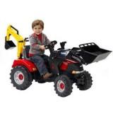 Tractor Falk Case IH cu excavator si cupa
