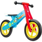 Bicicleta fara pedale din lemn Seven 12 Mickey