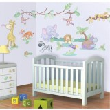 Kit decor Walltastic Baby Jungle Safari {WWWWWproduct_manufacturerWWWWW}ZZZZZ]