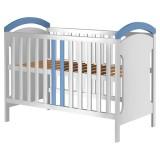 Patut copii din lemn Hubners Hansell 120x60 cm alb-albastru {WWWWWproduct_manufacturerWWWWW}ZZZZZ]