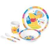 Set pentru luat masa Lulabi 5 piese Winnie the Pooh
